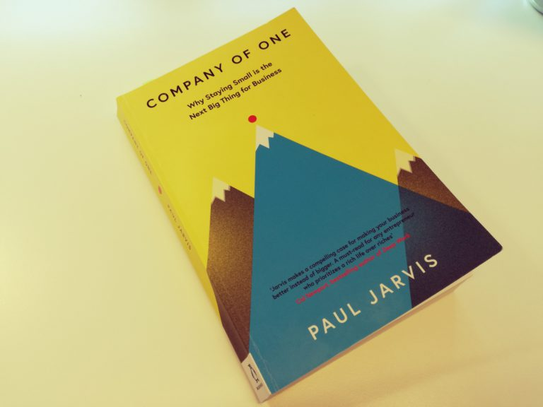 Book review: why every freelance copywriter should read Company of One by Paul Jarvis